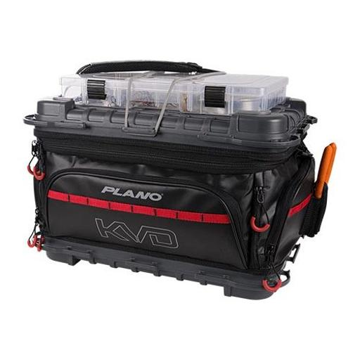 Plano plab37700 plano kvd signature series 3700 size tackle bag black/gray/read thumbnail