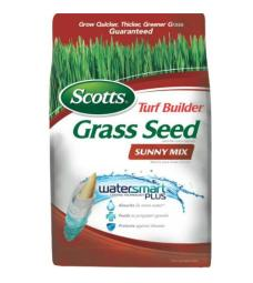 Scotts 18345 Turf Builder Sunny Grass Seed, 3 Lbs