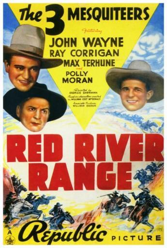 Red River Range Movie Poster Print (27 x 40) 2KQ0PLLINJBW8TED