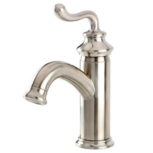 Fauceture FS5411RL Single Handle Centerset Lavatory Faucet with Push-Button Pop-