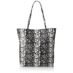 BCBGeneration Rae The Cory Shoulder Bag,Black/White Combo,One Size