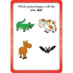 Comprehensive Curriculum of Basic Skills Learning Cards, Grade K