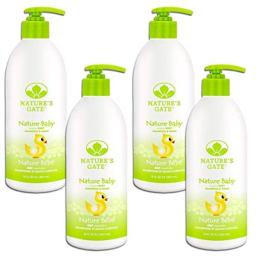 Nature's Gate Baby Soothing Shampoo for Fine, Delicate Hair, 18 Ounce (Pack of 4)