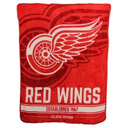 The Northwest Company NHL Breakaway Super Soft Plush Throw Blanket (Detroit Redwings)