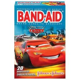 Band-Aid Adhesive Bandages Disney Pixar Cars, 3 Assorted Sizes - 20 ct
