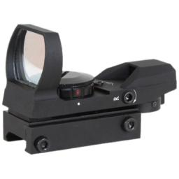 AIM Sports Tactical Dual Ill. 4 Different Reticles/Special Ops Edition (Small, Black)