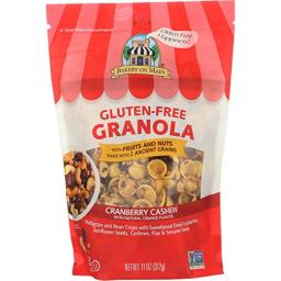 Bakery On Main Gluten Free Non GMO Granola, Cranberry Cashew, 11 Ounce