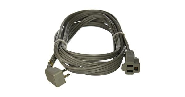 Certified Appliance Accessories 15-Amp Appliance Extension Cord, 12ft .UL listed.Sleeved.Gray.5 year warranty- From the Manufacturer.