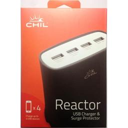 CHIL PowerShare Reactor 51 Amp Multi-Device Home Charging Station - Black (0212-4566)