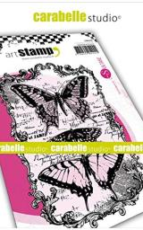Carabelle Studio SA60430 Cling Stamp A6 by Sultane-Butterflies, us:one Size, Clear