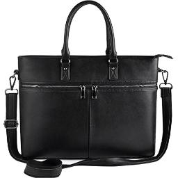 Laptop Bag for Women Up to 15.6 Inch,Business Laptop Tote Bag for Women,Multifunction Pockets with Durable Metal Zippers Womens Briefcase,Black