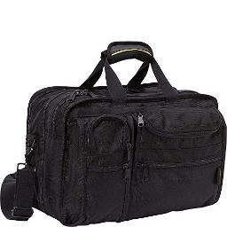 A.Saks Ballistic Nylon Expandable Organizer With Laptop Compartment in Black