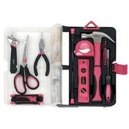 126PC Kitchn Drwr Tool Kit Red