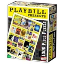 Playbill Broadway Cover - 1000 Piece Jigsaw Puzzle