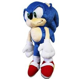 Sonic the Hedgehog Large Size Kids Plush Toy With Secret Zipper Pocket (17in)