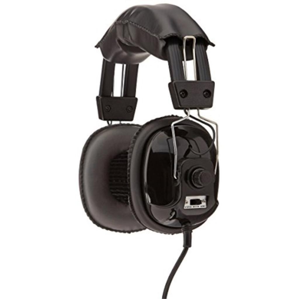Bounty hunter headw bounty hunter metal detector stereo headphones