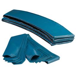 Trampoline Appearance Replacement Set, 7.5' Round Safety Pad with 6-pole Sleeve Protectors - Aquamarine