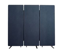 Luxor 3 Pack Reclaim Acoustic Room Dividers - Starlight Blue