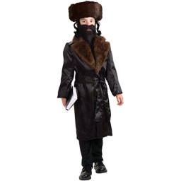 Forum Novelties Rabbi Child Costume, Large