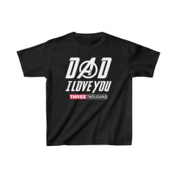 Kids' Dad I love you three thousand Father's Day Youth T-Shirt