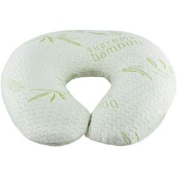 "Supreme Bamboo Nursing Pillow and Positioner | Large 20"" x 19"" Cushion 