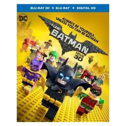 Lego batman movie (2017/blu-ray/3-d/digital copy/combo/2 disc) (3-d) BR619747
