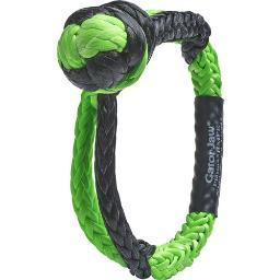 Bubba Rope 176745 Bubba Rope Gator Jaw 7/16 Synthetic Shackle Black/green