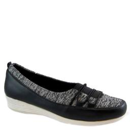 Bees By Beacon Womens Polly Jersey Fabric Square Toe Mary Jane Flats