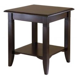 Winsome 40220 Nolan End Table- Cappuccino