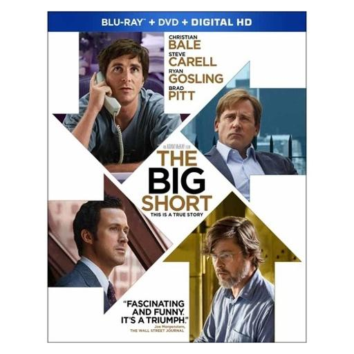 Big short (blu ray/dvd w/digital hd combo) 3SCSV21JXJ5DYV2B