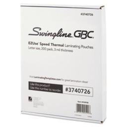 Swingline 3740726 GBC EZUse Thermal Laminating Pouches