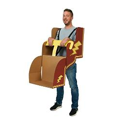 Advanced Graphics Roller Coaster Diy Cardboard Adult Costume