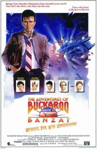 The Adventures of Buckaroo Banzai Across the Eighth Dimension Movie Poster (11 x 17) BEIJBMMWQELY1XCZ