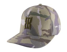 Bex Hat Adult Pitfall 6 Panel PVC Patch 4 Way Stretch Fit H0011