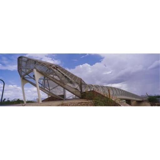 Panoramic Images PPI104245L Pedestrian bridge over a river Snake Bridge Tucson Arizona USA Poster Print by Panoramic Images - 36 x 12