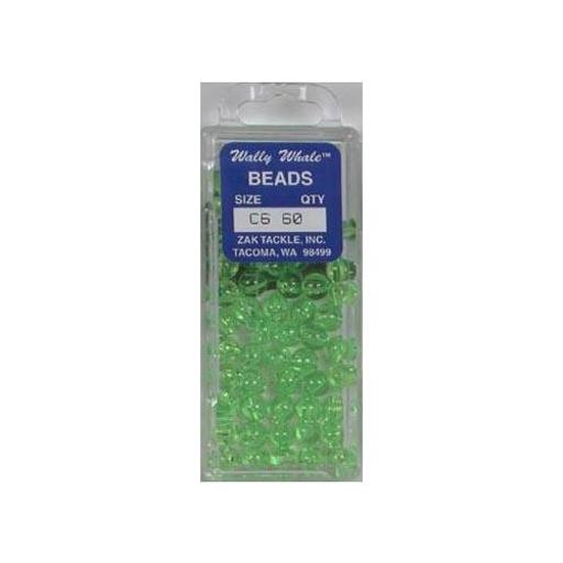Zak tackle z-beadc6 chart beads sz6 box of 60