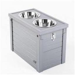 New Age Pet EHHF305XL Piedmont Diner Storage, Grey