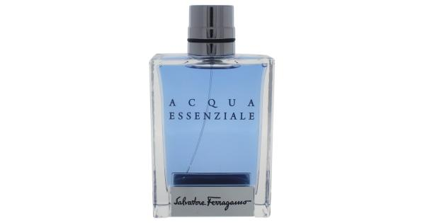 Salvatore Ferragamo Acqua Essenziale By Salvatore Ferragamo For Men - 3.4 Oz Edt Spray ( Tester)  3.4 Oz Launched by the design house of Salvatore Ferragamo in the year 2013. This aromatic fragrance possesses a blend of mint, lemon leaf, geranium, rosemary, lavender, sea notes, patchouli, vetiver, musk, and labdanum.