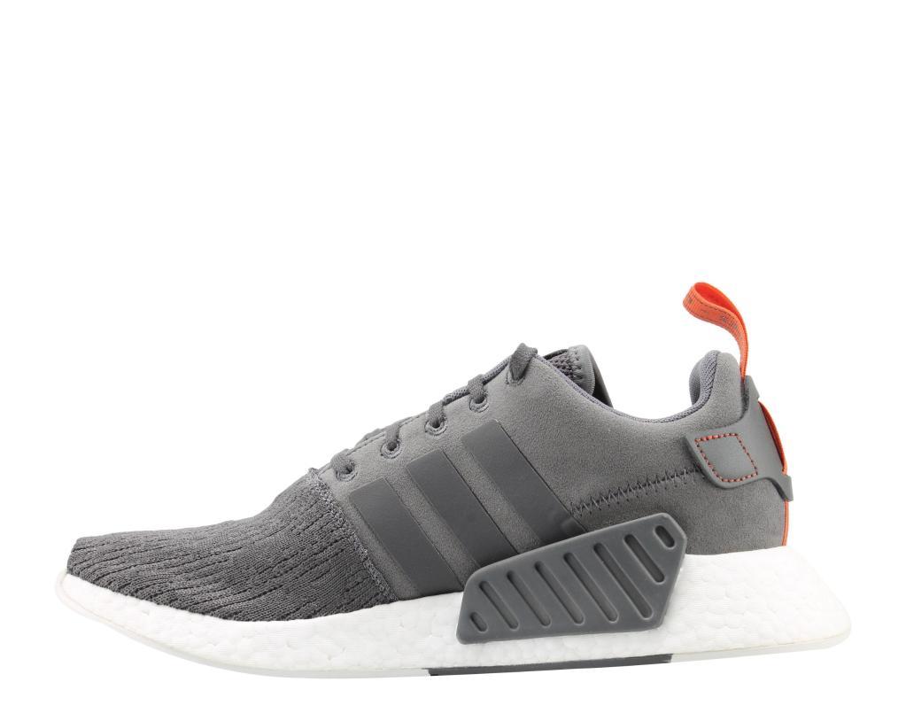 los angeles 274ba 5df04 Adidas Adidas NMDR2 GreyGreyFuture Harvest Mens Running Shoes BY3014   massgenie.com