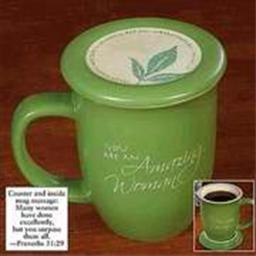 abbey-press-408516-mug-grace-outpoured-amazing-woman-green-white-interior-with-coaster-lid-2e200138c8ec141b