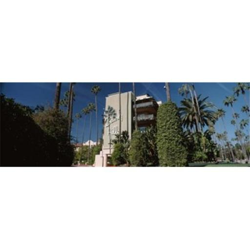 Panoramic Images PPI125055L Trees in front of a hotel Beverly Hills Hotel Beverly Hills Los Angeles County California USA Poster Print by Panoram