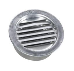 Air Vent 50001 Mini Louver, Aluminum, 2""