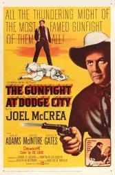 The Gunfight at Dodge City Movie Poster (11 x 17) MOVIB13101