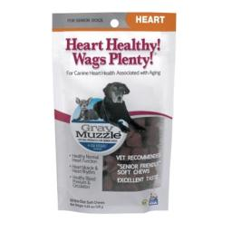 Gulf Coast Nutritionals AT71002 Gray Muzzle Heart Healthy- Wags Plenty - 60 Count