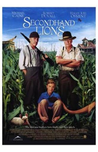Secondhand Lions Movie Poster (11 x 17) KU7OVTS3HPUXTYX6