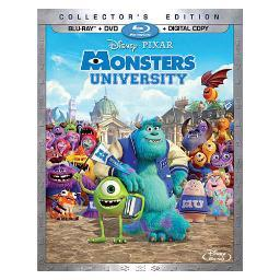 Monsters university (blu-ray/dvd/dc/3 disc/collectors ed)-nla BR111867