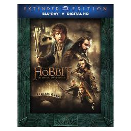 Hobbit-desolation of smaug (blu-ray/ext edition/3 disc) BRN492328