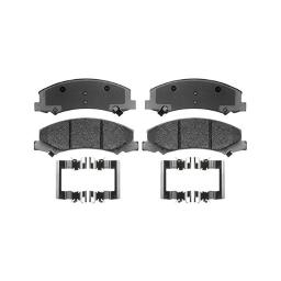 Acdelco 17d1159mhpv specialty semi-metallic performance front disc brake pad set for fleet/police