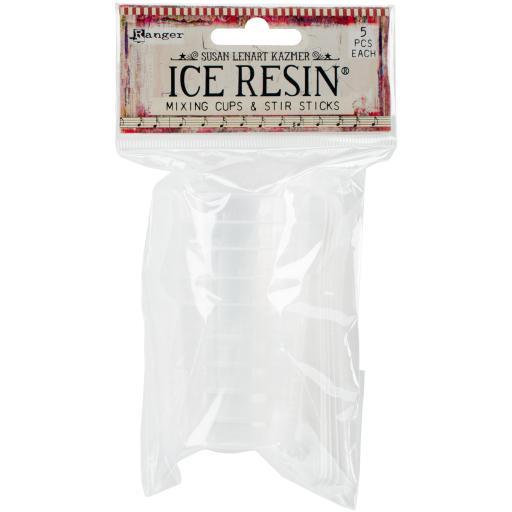 Ice Resin Mixing Cups & Stir Sticks 5/Pkg- 7ZX9DDHZY97XBI9L