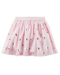 Carter's Baby Girls' Tutu Tulle Bow Pink Skirt - 12 Months